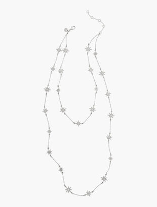 Crystal Stars Layering Necklace