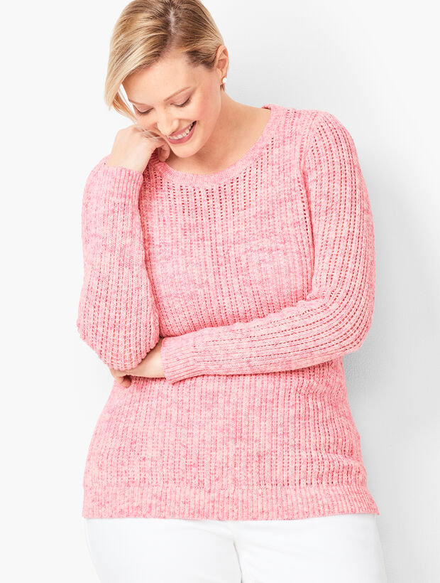 Open Stitch Sweater   Space Dyed by Talbots