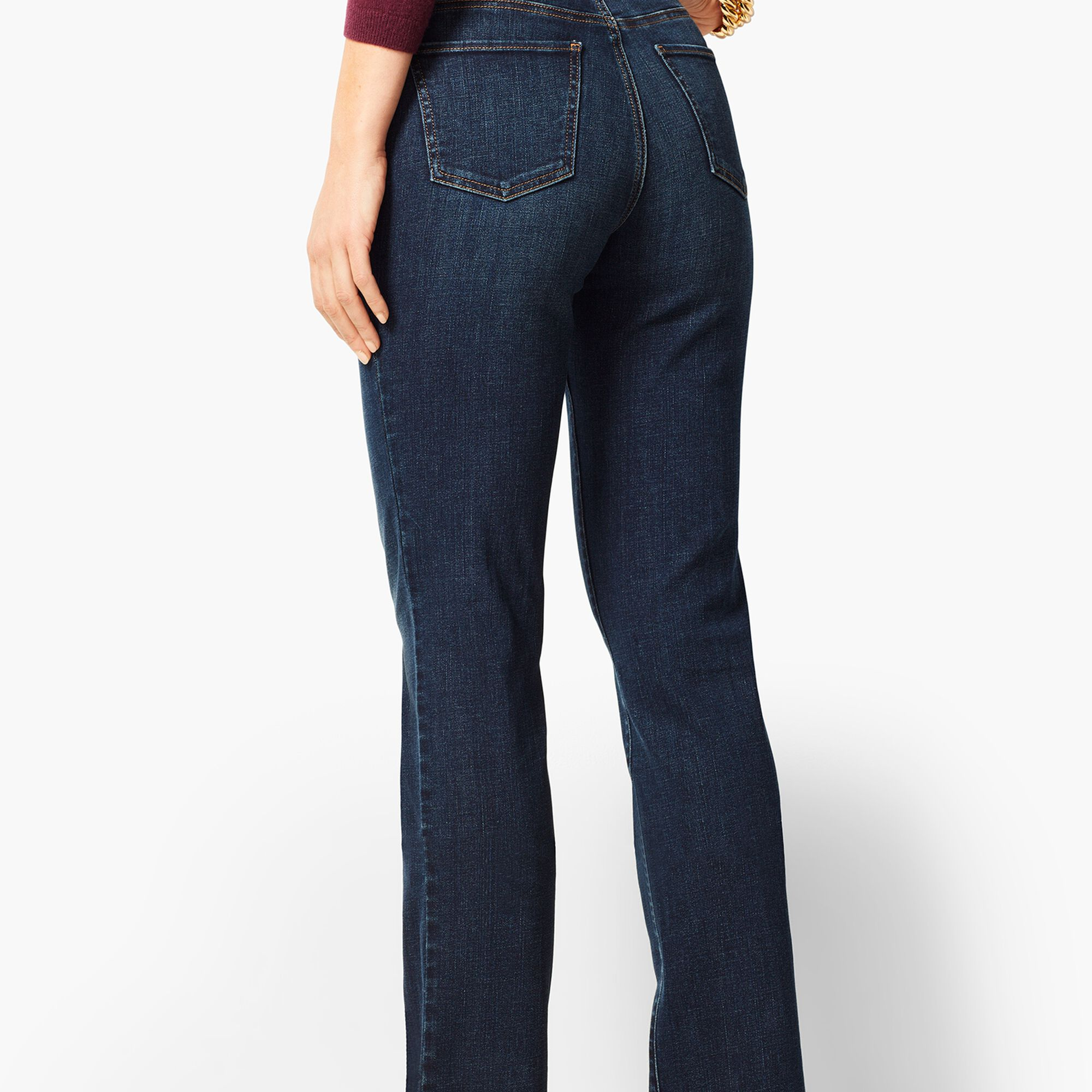 8f866a60909 High-Waist Denim Barely Boot Jeans - Pioneer Wash
