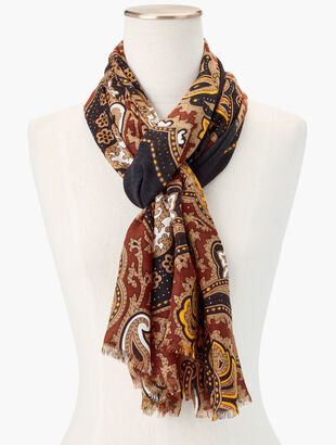 Celebrated Paisley Scarf
