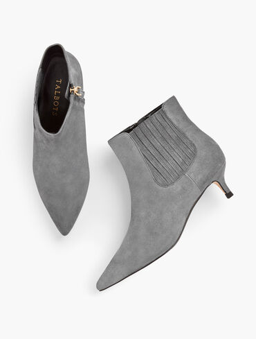 Iona Suede Ankle Boots