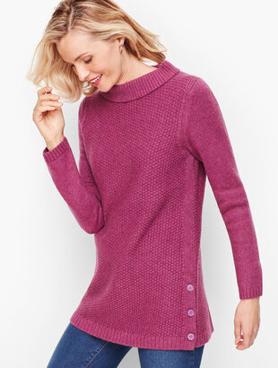 Textured Sabrina Sweater - Donegal