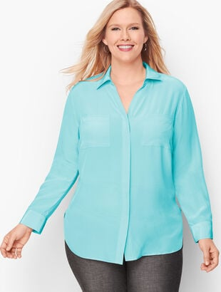 Washable Silk Shirt