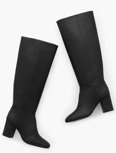 Darcy Tall Nappa Boots
