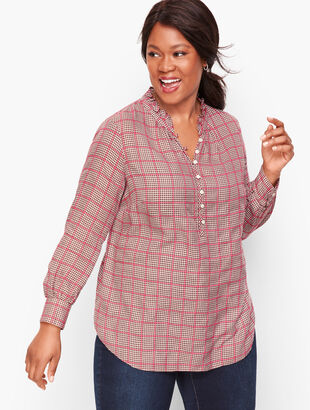 Easy Plaid Popover