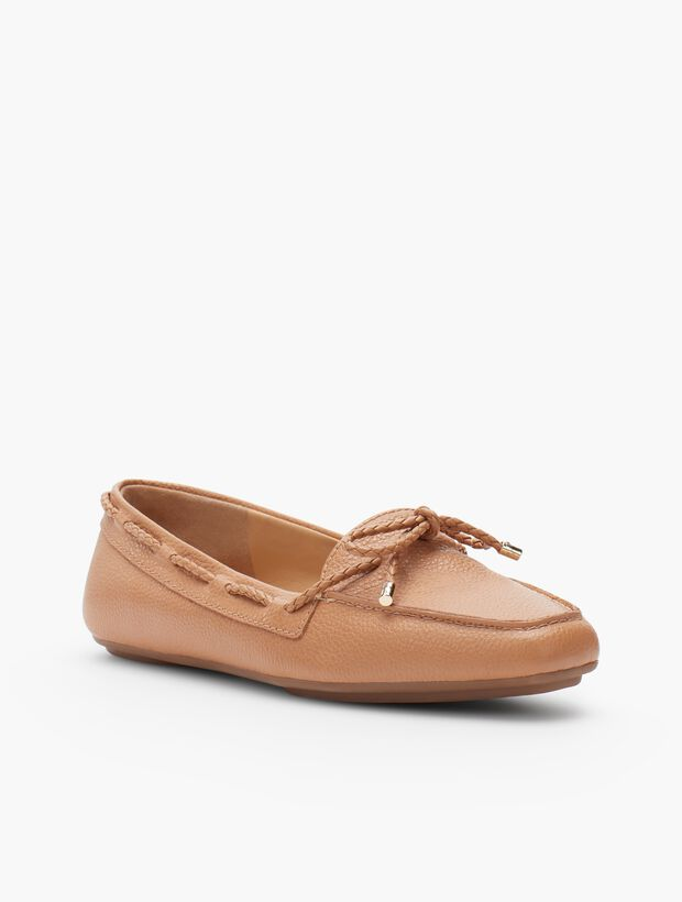 Becca Moccasins - Pebble Leather