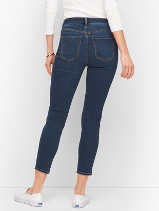 Jeggings Crops - Myrtle Wash