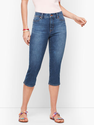 Pedal Pusher Jeans - Curvy Fit - Gates Wash