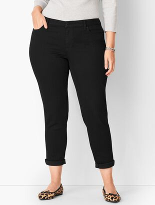 Girlfriend Jeans - Black