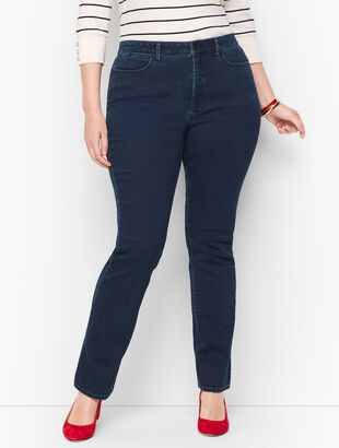 Plus Size Barely Boot Jeans - Simple Marco Wash