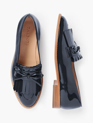 Leighton Kiltie Loafers - Patent Leather