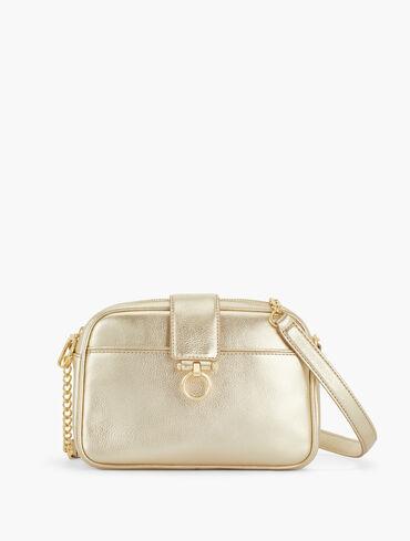 Soft Pebbled Crossbody Bag