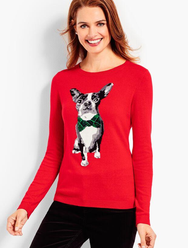 Tartan Terrier Sweater