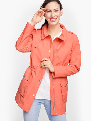 Water Resistant Cotton Anorak