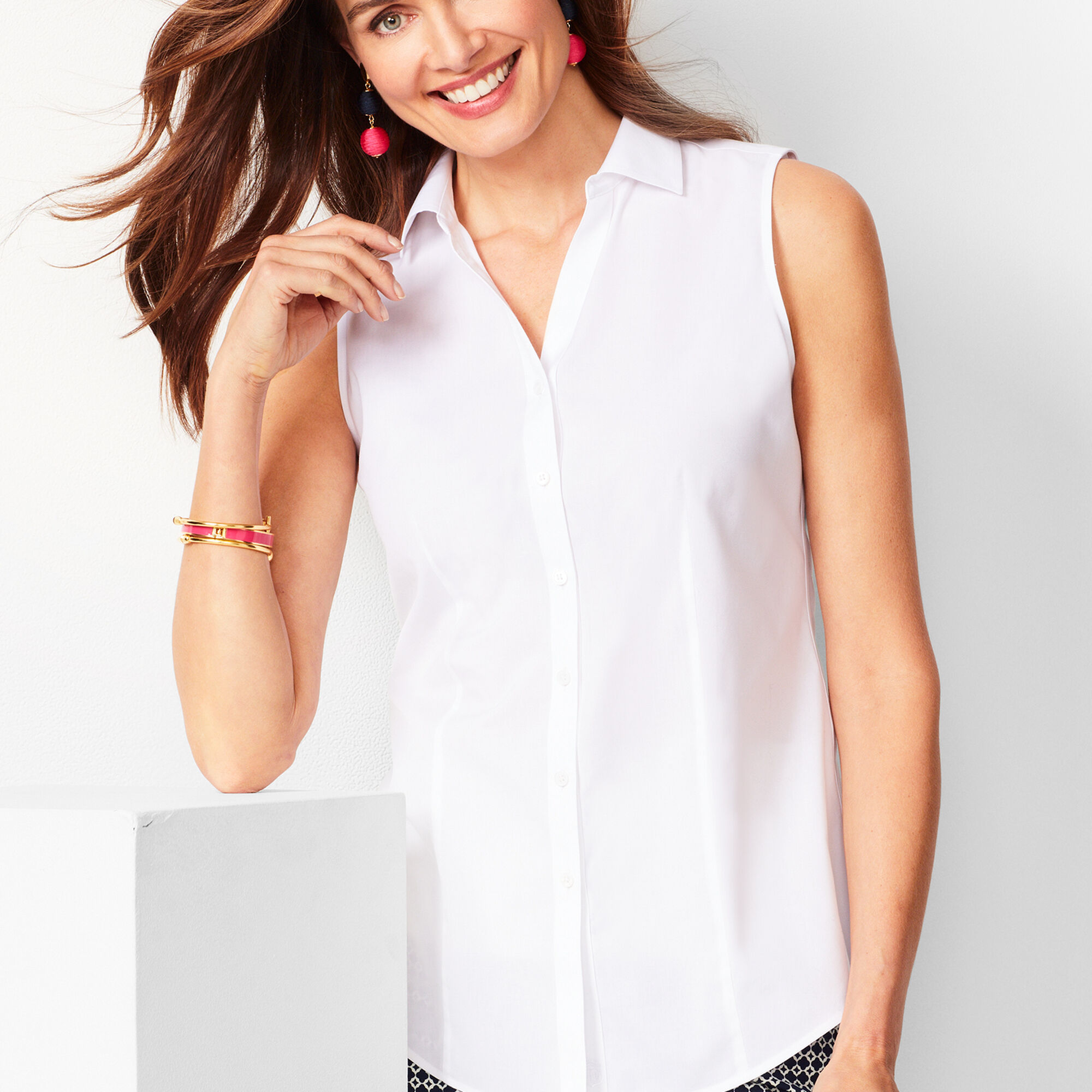 09ed36a03c446 Perfect Shirt - Sleeveless - Solid Opens a New Window.