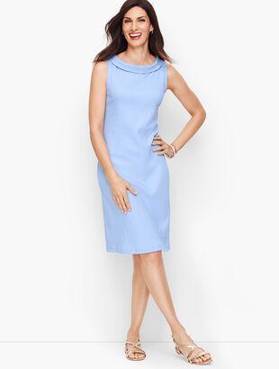 Audrey Knit Shift Dress - Solid