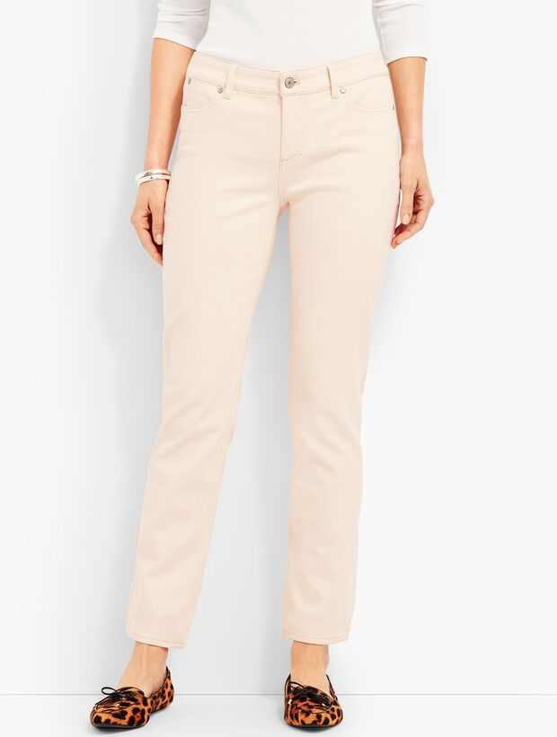 The Flawless Five-Pocket Ankle-Natural Denim