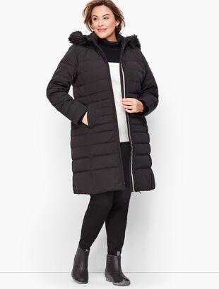 Long Down Puffer Coat
