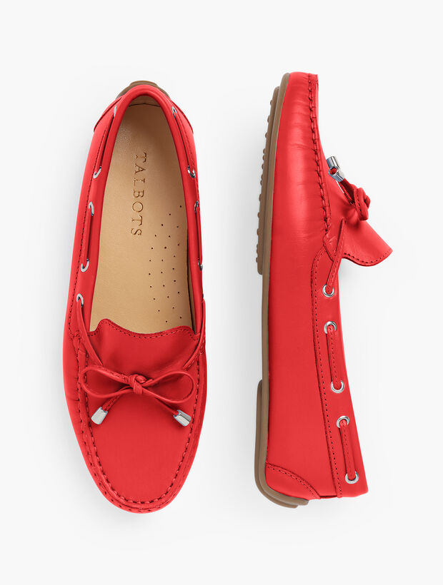 Taylor Laced Driving Moccasins - Vachetta