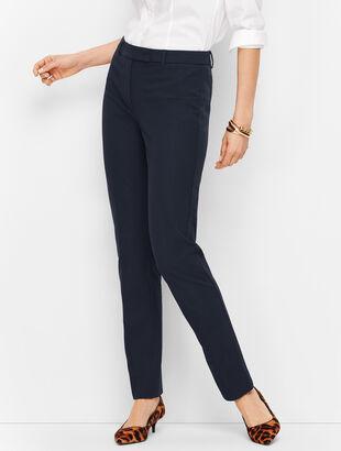 8eabb05f00b Bi-Stretch High-Waist Straight-Leg Pant - Solid