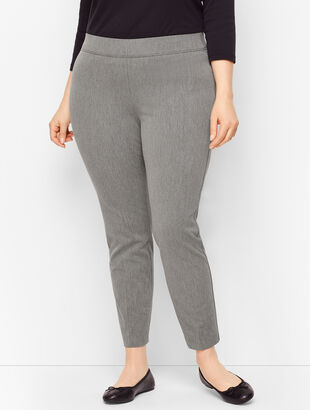 Talbots Essex Ankle Pant - Shadow Heather