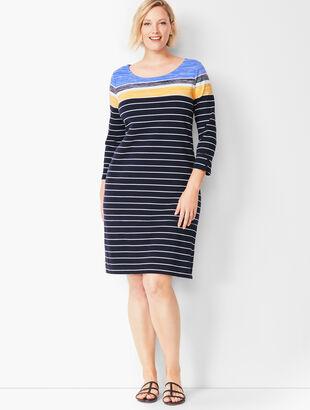 Stripe Knit Dress