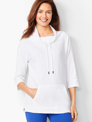 Double-Knit Dolman Sleeve Top