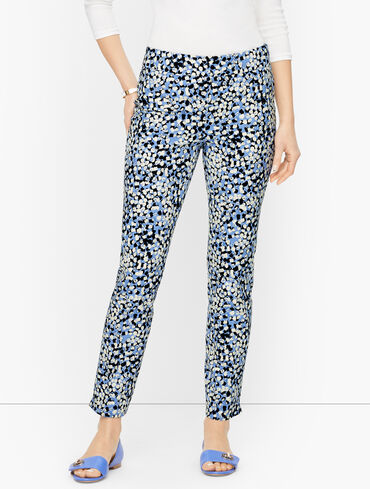 Talbots Chatham Ankle Pants - Textured Dots