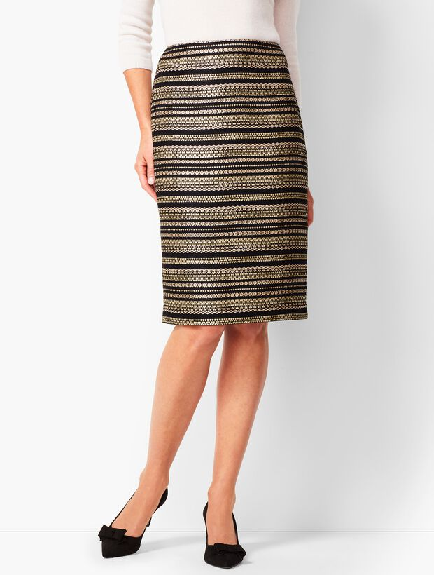 aff9bf7e47 Tweed Pencil Skirt | Talbots