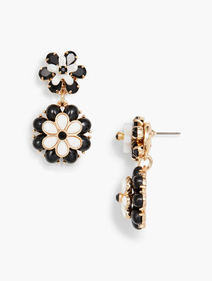 Marbled Blooms Earrings