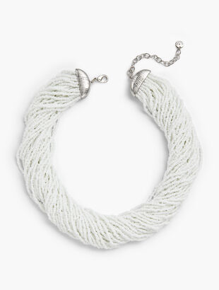 c9a9f29acf Multi-Strand Seed Bead Necklace
