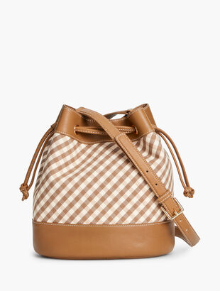Bucket Bag - Gingham