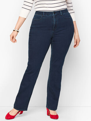 Barely Boot Jeans - Curvy Fit - Simple Marco Wash