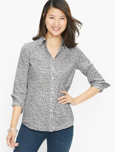 Perfect Shirt - Ditsy Cheetah