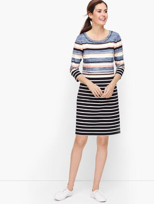 Colorful Multi Stripe Dress