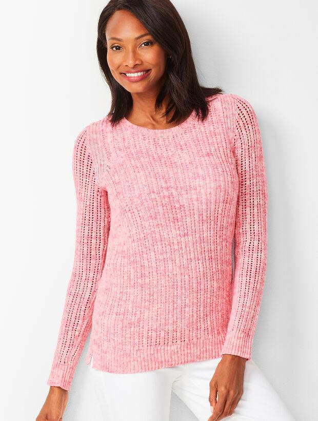 c49ae732e2e Open-Stitch Sweater - Space-Dyed