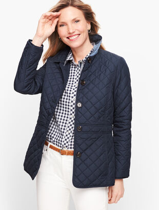 Quilted Jacket - Solid