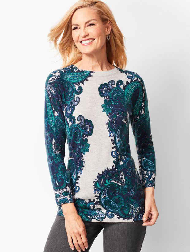 Audrey Cashmere Sweater - Paisley