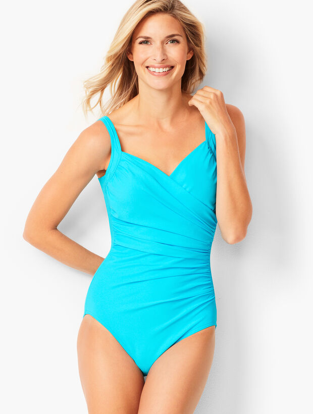 035bdb80e2e2 Miraclesuit(R) Sanibel One-Piece - Solid | Talbots
