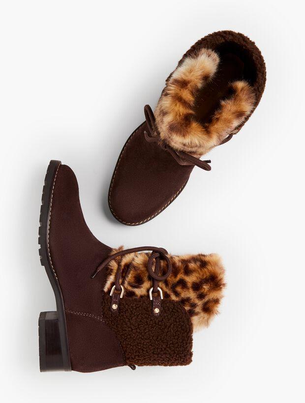 Tish Faux-Fur Ankle Boots