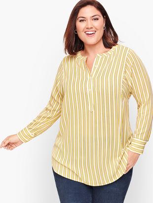 Simple Stripe Soft Shirt