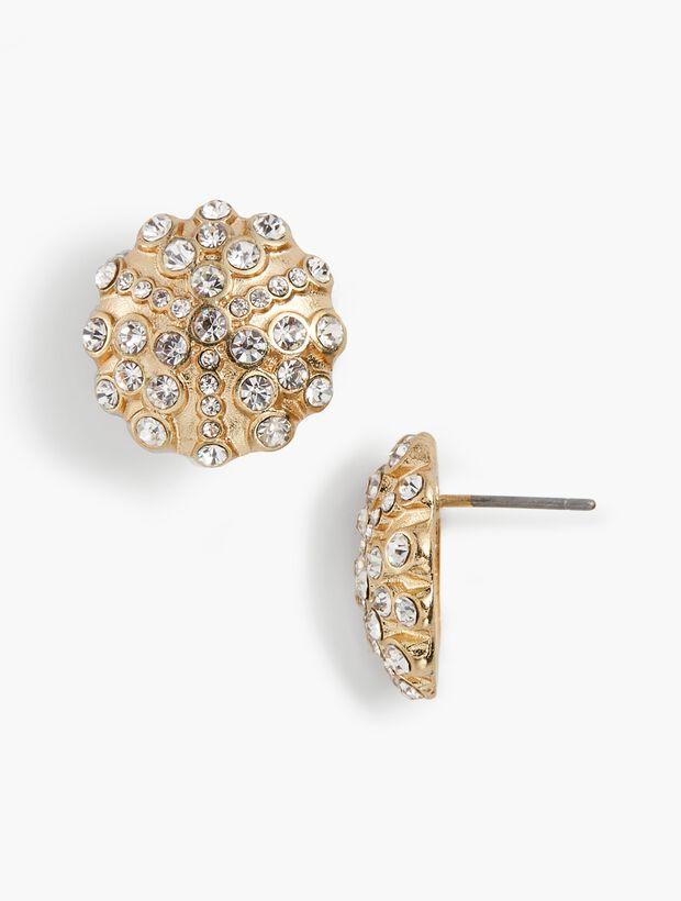 Snow-Globe Stud Earrings