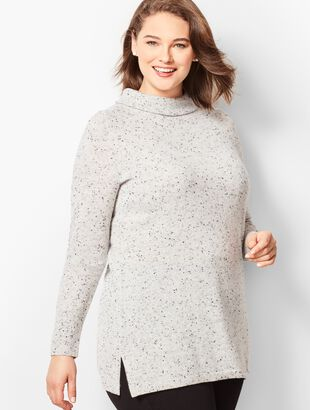 Sabrina Cashmere Sweater-Donegal