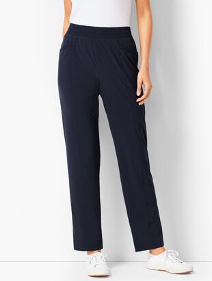 Woven Jersey Lined Pants