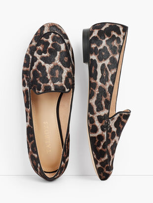 Ryan Loafers - Grey Leopard Calf Hair