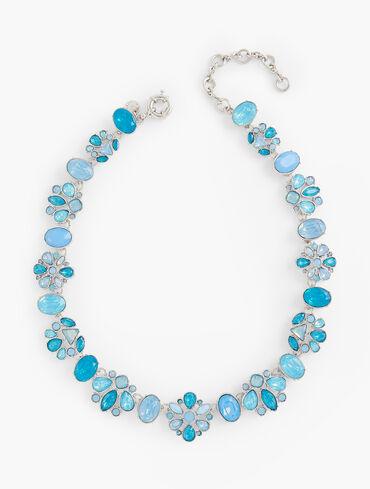Aqua Frost Short Necklace