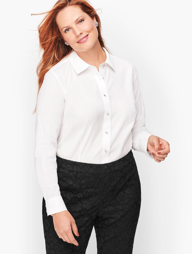 Diamanté Button Shirt