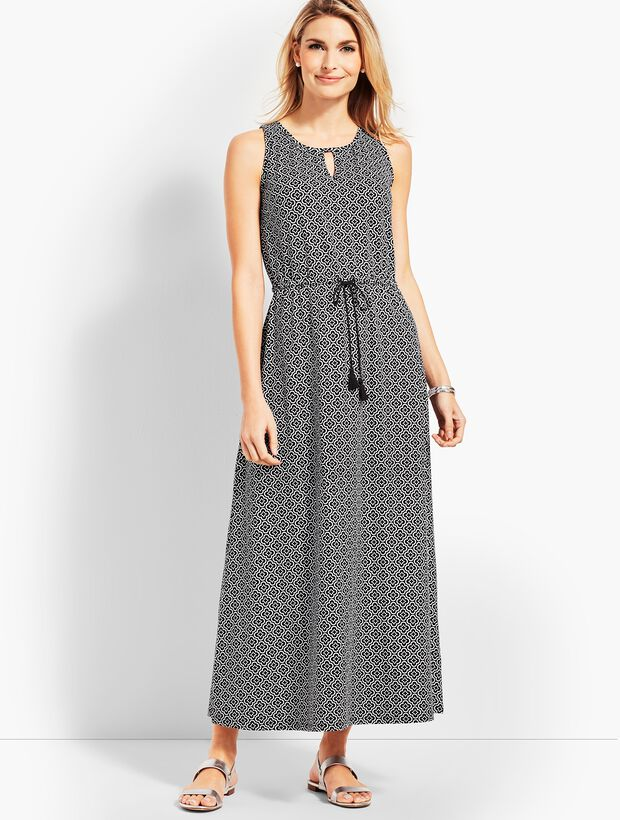 e11bbe950f5 Avalon Tiles Casual Jersey Maxi Dress