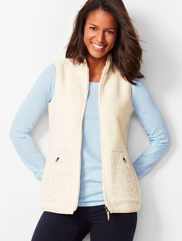 Soft Sherpa Vest