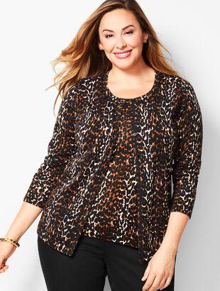 Charming Cardigan - Leopard